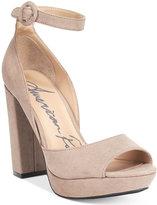 American Rag Reeta Block-Heel Platform Sandals, Only at Macy's