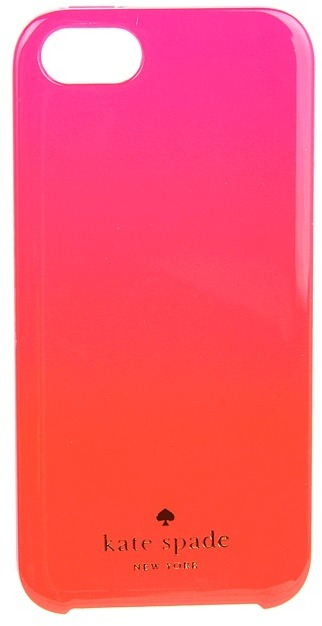 Kate Spade Ombre Resin Phone Case for iPhone 5 (Zinnia Pink) - Bags and Luggage