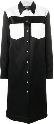 Calvin Klein Contrast Shirt Dress