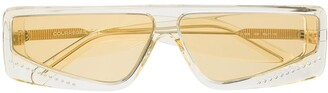 Courreges Cat-Eye Frame Tinted Sunglasses