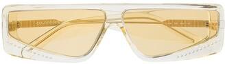 Courrèges Eyewear Cat-Eye Frame Tinted Sunglasses