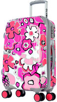 "Olympia Women's Blossom II 25"" Hardcase Spinner w/ TSA Lock"