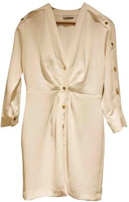 Sandro Spring Summer 2019 White Cotton Dress for Women
