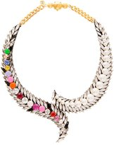 Shourouk Piuma Coloured Necklace