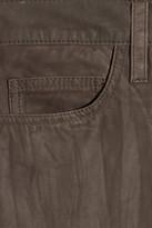 Current/Elliott The Boyfriend cropped leather pants