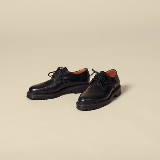 Sandro Derby shoe with studs