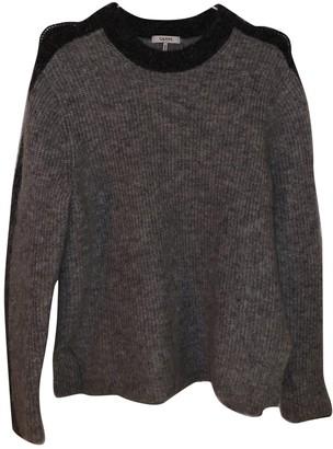 Ganni SS18 Grey Wool Knitwear for Women