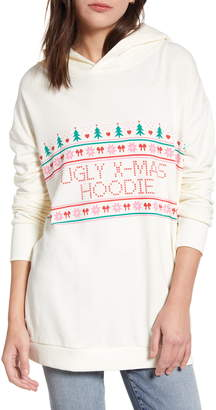 Wildfox Couture Ugly X-Mas Rebel Hoodie