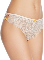 Heidi Klum Intimates Cle D'Amour Thong #H37-1214