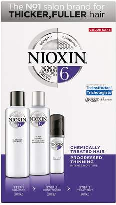 Nioxin System 6 Kit for Thicker Fuller Chemically Treated Hair