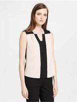 Calvin Klein Colorblock Sleeveless Top