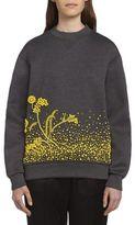 Prada Embroidered Sweatshirt