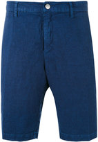 Massimo Alba tonal striped shorts - men - Linen/Flax - 48