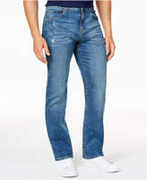 Club Room Men's Straight-Leg Stretch Medium Wash Jeans, Created for Macy's