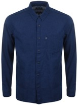 Levi's Levis Long Sleeved Line 8 One Pocket Shirt Blue