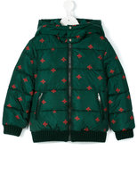 Gucci Kids - printed parka jacket - kids - Polyamide/Polyester/Wool - 5 yrs