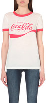 Wildfox Couture Coca-cola cotton-jersey t-shirt