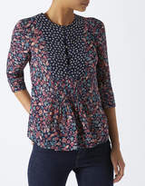 Monsoon Ester Print Top