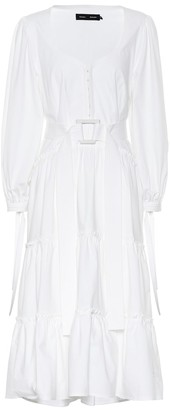 Proenza Schouler Stretch cotton midi dress