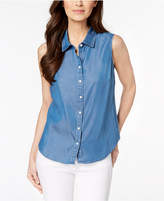 Charter Club Chambray Shirt, Created for Macy's