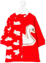 Stella McCartney swan print dress