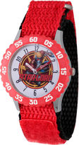 Marvel Guardian Of The Galaxy Boys Red Strap Watch-Wma000136