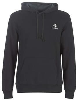 Converse STAR CHEVRON EMBROIDERED PO HOODIE men's Sweatshirt in Black