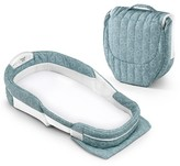 Baby Delight Snuggle Nest Surround Infant Sleeper - Sea-Green Rings XL