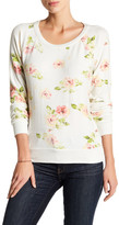 Chaser Long Sleeve Floral Pullover