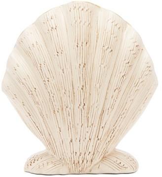 AERIN Amelie Ceramic Shell Vase - White