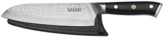 Sasaki Takumi Japanese Santoku Knife with Locking Sheath