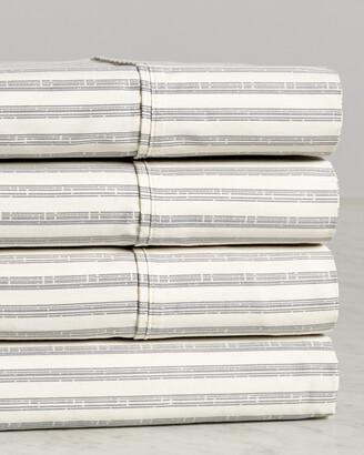 Melange Home Bamboo Stripe Sheet Set