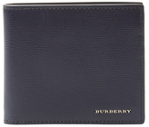 Burberry Grained Leather Bifold Wallet