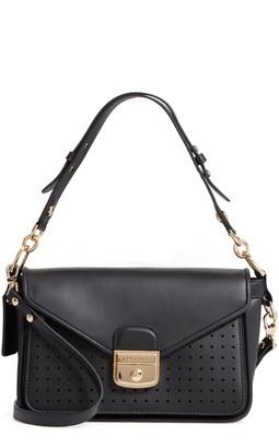 Longchamp Mademoiselle Calfskin Leather Crossbody Bag