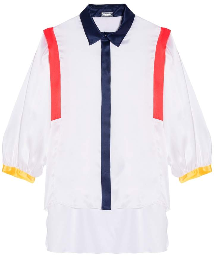 Alexis Mabille Striped Long Sleeves Shirt