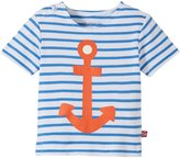 Zutano Anchor Screen Tee (Baby) - Periwinkle - 24 Months