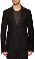 Rick Owens Wool Notch Lapel Jacket