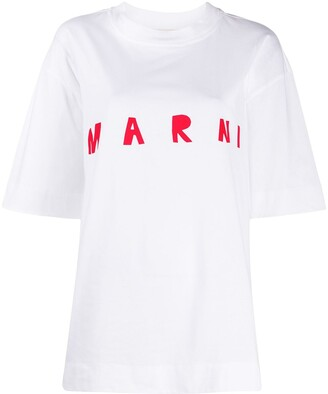 Marni drawn logo T-shirt