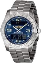 Breitling Men's E7936210/C787 Aerospace Titanium Digital Analog Watch