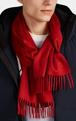 Barneys New York Men's Cashmere Scarf - Red