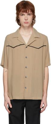 Davi Paris Beige Western Shirt