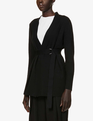 Ted Baker Belted stretch-knit cardigan