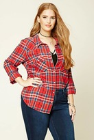Forever 21 FOREVER 21+ Plus Size Plaid Shirt