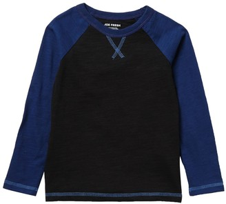 Joe Fresh Raglan Long Sleeve T-Shirt (Toddler & Little Boys)