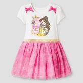 Disney Princess Belle Toddler Girls' Birthday Dress - Ivory