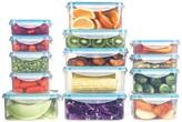 Art & Cook Seal Fresh Plastic 28-Piece Container Set