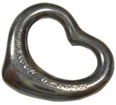 Tiffany & Co. Sterling Silver Elsa Peretti Small Open Heart Pendant Charm