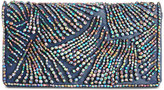 Adrianna Papell Nixie Beaded Small Flap Clutch
