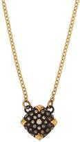 Armenta Old World Midnight Pavé; Diamond Cushion Necklace