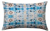 Found Object Floral Lumbar Pillow